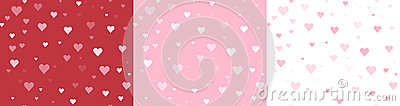 Seamless Heart Backgrounds