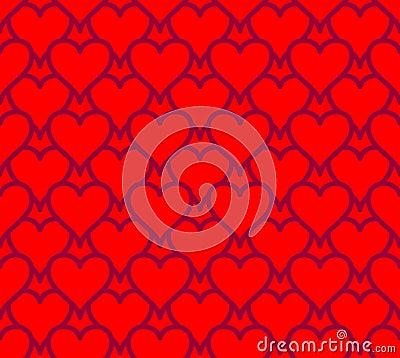 Seamless hearts