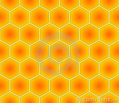 Seamless Hex Background