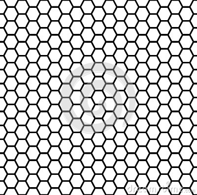 Free Seamless Honeycomb Royalty Free Stock Image - 56851126