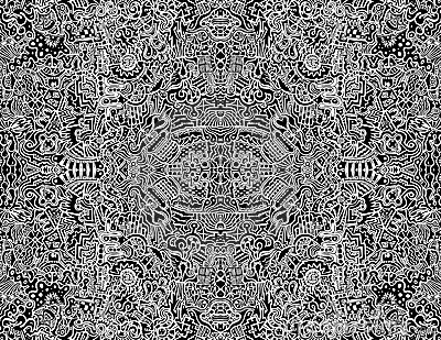 Seamless Intricate Abstract Vector