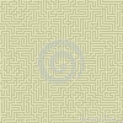 Seamless intricate maze
