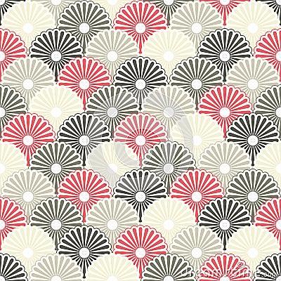Free Seamless Japanese Background Royalty Free Stock Photos - 17182988