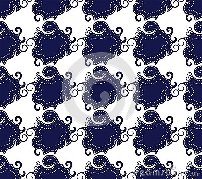 Seamless jeans pattern