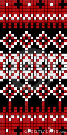 Seamless Knit Pattern Block 1