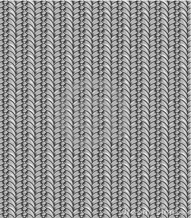 Seamless knitting pattern, shades of gray