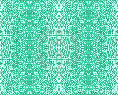 Seamless lace mint color