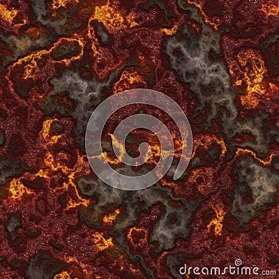 Seamless Lava
