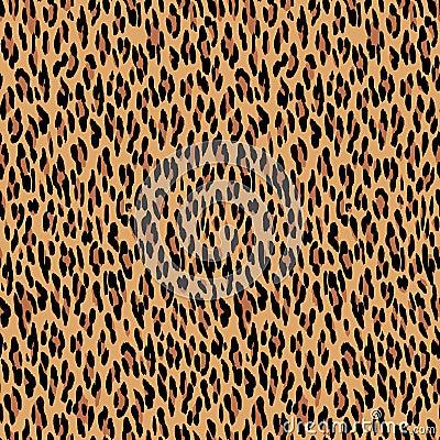 Free Seamless Leopard Pattern. Animal Skin Texture. Royalty Free Stock Photo - 58587445