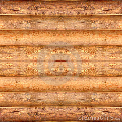 Seamless Log Cabin Texture
