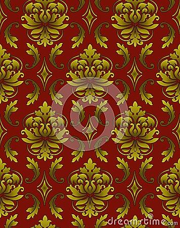 Seamless luxury pattern  background