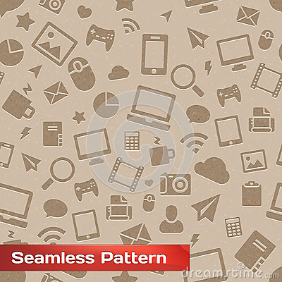 Seamless Media Pattern