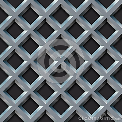 Free Seamless Metal Grill Royalty Free Stock Image - 27171256