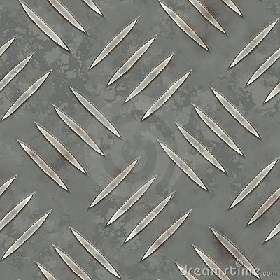 Seamless Metal Ridge Background