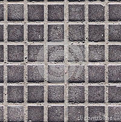 Seamless metal roof texture
