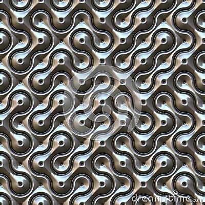 . Seamless Metal Texture Stock Image   Image  6213101