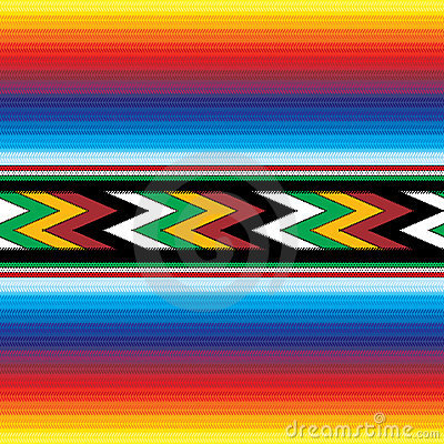 Free Seamless Mexican Pattern Royalty Free Stock Images - 7085049