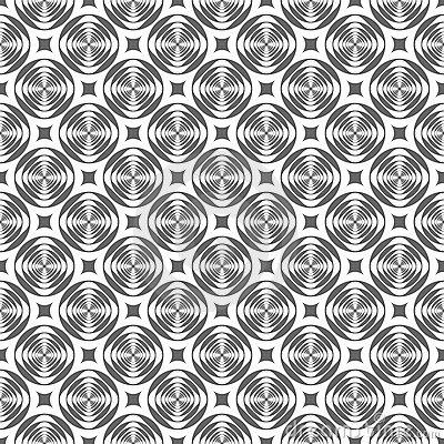 Seamless modern geometric pattern.