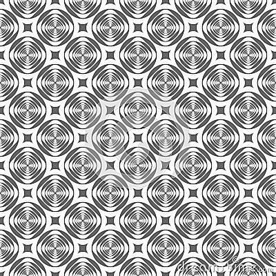 Seamless modern geometric pattern.
