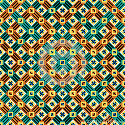 Seamless moorish vector pattern