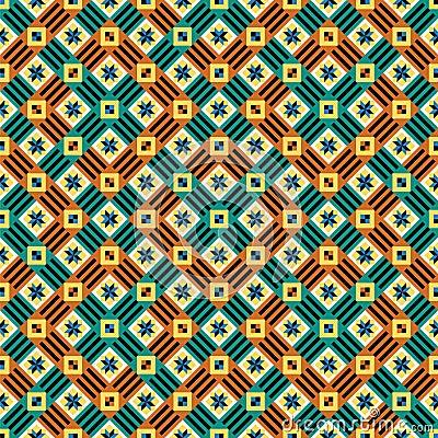 Seamless moorish vector pattern
