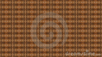 Seamless Mosaic Background Using Fur From a Cat