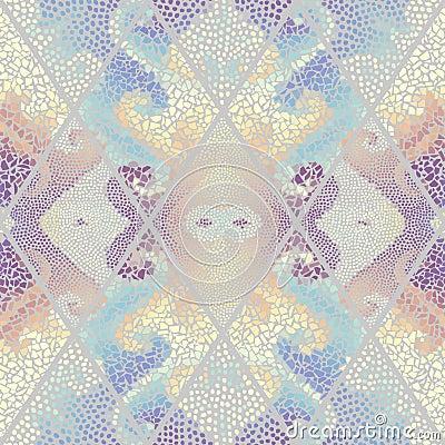 Free Seamless Mosaic Pattern Stock Image - 116190141