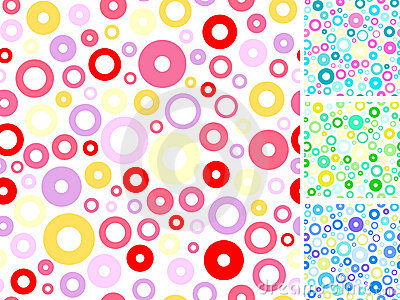 Seamless multicolored backgrounds s