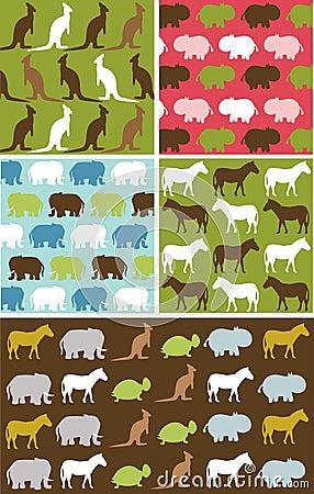 Free Seamless Natural Animal Pattern, Animal Texture Stock Image - 17731741