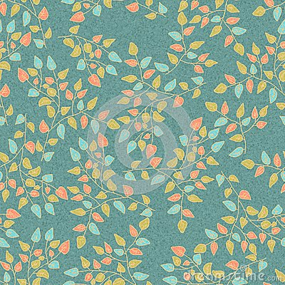 Seamless Natural Retro pattern