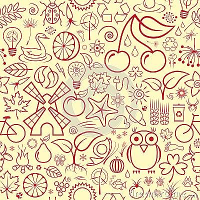 Seamless Nature Wallpaper
