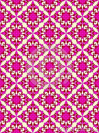 Seamless nostalgia pattern
