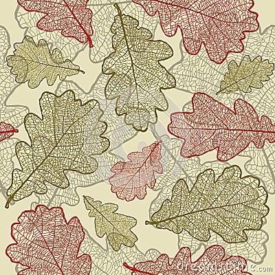 Seamless oak background
