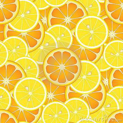 Seamless Oranges and Lemons