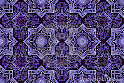 Seamless oriental  detailed  pattern