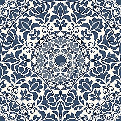 Free Seamless Oriental Pattern Stock Photos - 55712203