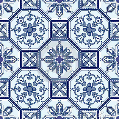 Seamless oriental pattern  background