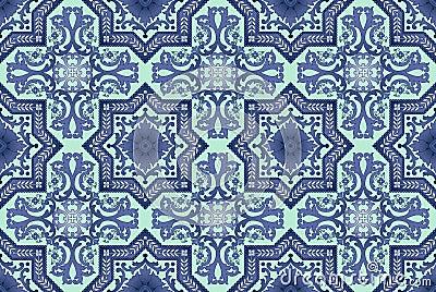 Seamless oriental pattern  background