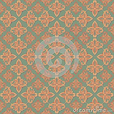 Seamless original geometric background