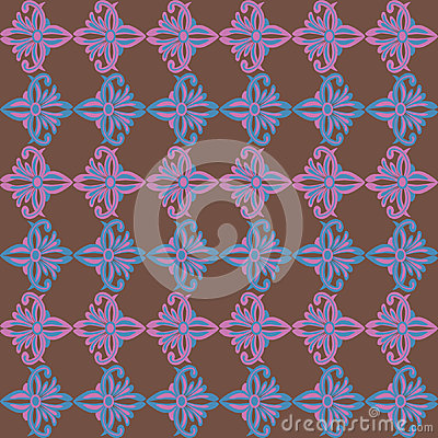 Seamless original geometric background