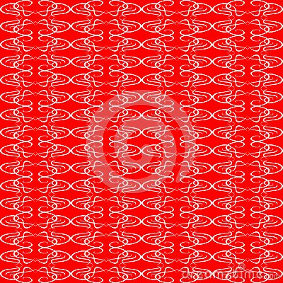 Seamless ornament red decorative background patter