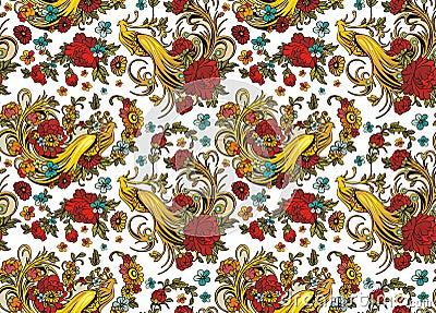 Seamless Ornament Wallpaper