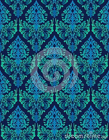 Seamless ornamental luxury vector background
