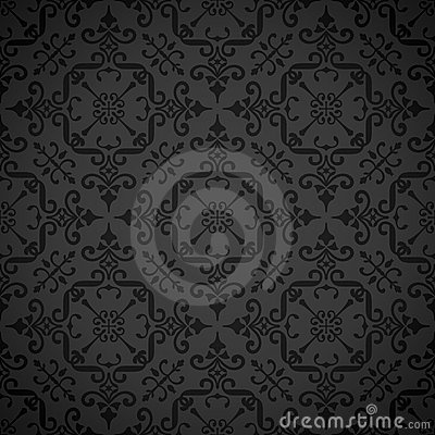Free Seamless Ornate Elegant Wallpaper Background Stock Photos - 16284713