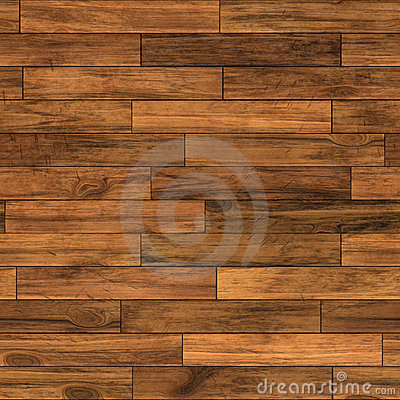 Seamless parquet floor tile