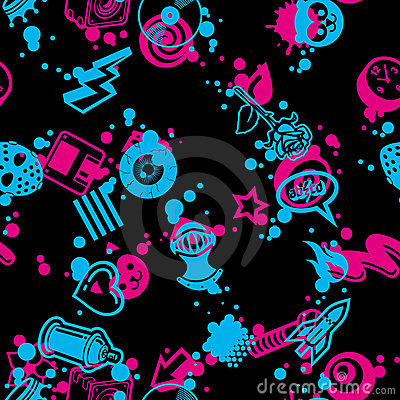 Seamless Pattern 90 Degree