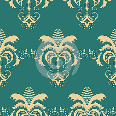 Seamless pattern background.Vintage vector