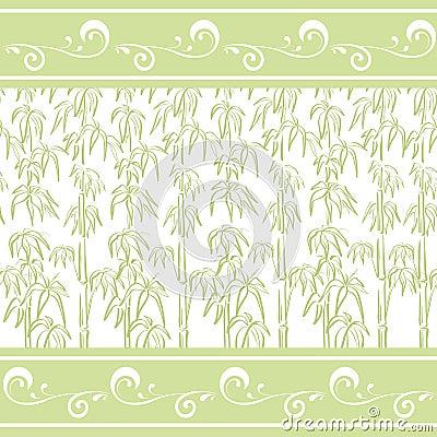 Seamless pattern, bamboo