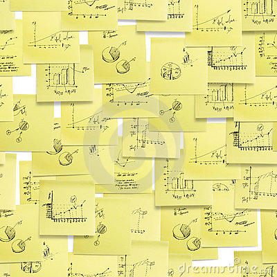 Seamless pattern: business, finance.