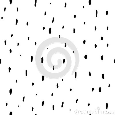 Free Seamless Pattern. Casual Polka Dot Texture. Stylish Doodle. Isol Stock Images - 83176994